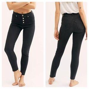 Denim - Levi's Mile High Super Skinny Ankle Crop Jeans